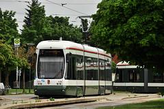 Bombardier CityFlex CF8 #876 AVG Augsburg (3x105Na) Tags: germany bayern deutschland tram augsburg strassenbahn bombardier tramwaj avg 876 niemcy cf8 cityflex