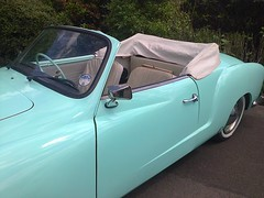 photo1633 (melissawhitaker503) Tags: park blue car vintage chrome 1960s haworth