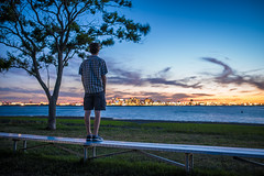 You Know How I Feel (Evan's Life Through The Lens) Tags: camera blue trees friends light sunset sky orange sun color green glass beautiful grass set night work out lens fun outside outdoors drive long exposure afternoon bright zoom vibrant sony side wide adventure telephoto after around job f28 2470mm a7s