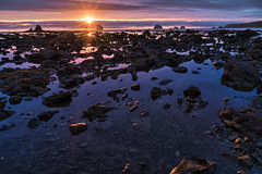 Sunset over Sand Point (absencesix) Tags: travel blue sunset sky orange seascape reflection beach nature colors weather clouds walking landscape washington rocks purple unitedstates hiking may olympicpeninsula noflash backpacking northamerica 24mm portfolio tidepool tidalpool locations sandpoint facebook seastack locale 2016 iso50 clallambay 500px geo:country=unitedstates geo:state=washington activityaction apertureprioritymode exif:make=sony objectsthings hasmetastyletag hascameratype naturallocale haslenstype selfrating4stars camera:make=sony 16secatf18 exif:focallength=24mm exif:aperture=ƒ18 subjectdistanceunknown mirrorlesscameras fe2470mmf4zaoss exif:isospeed=50 sonyvariotessartfe2470mmf4zaoss geo:city=clallambay clallambaywashingtonunitedstates a7rii exif:lens=fe2470mmf4zaoss sonyα7rii ilce7rm2 northolympiccoast sonyalphaa7rii camera:model=ilce7rm2 exif:model=ilce7rm2 may282016 2016travel sandpointbackpacking0527201605312016 geo:lon=12471220556 geo:location=pacificnorthwesttrail geo:lat=4812648611 48°735n124°4244w