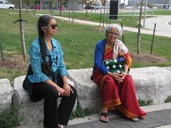 Toronto-15.05 (davidmagier) Tags: toronto ontario canada sunglasses can ponytail aruna mataji