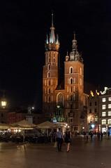 Krakow druga rano-107 (MMARCZYK) Tags: polska krakow nuit noc mariacki cracovie rynek pologne kosciol glowny