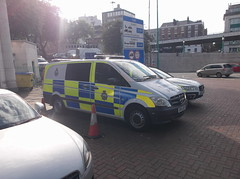 Photo of Mersey Tunnels Police Mercedes Vito (DK14ANP)
