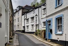 Narrow street in Fowey, Cornwall (Baz Richardson) Tags: cornwall fowey streetscenes narrowstreets passagestreetfowey