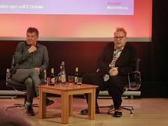 An Evening with John Lydon (Paul-M-Wright) Tags: new uk music london june rock sex john punk library centre culture wave stuart johnny conference british 24 rotten pistols 2016 lydon punklondon bbc6 maconie aneveningwithjohnlydon punk197678