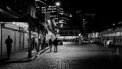 Market after dark-1003693 (Gene Trent) Tags: street dark crowd nightime pikeplacemarket