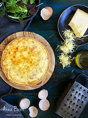 Quiche Lorraine (Gastroadikta) Tags: cheese recipe milk bacon dough huevos eggs quiche gruyre masas entrantes