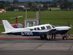 G-TSDS Piper Saratoga 32 (Aircaft @ Gloucestershire Airport By James) Tags: james airport saratoga gloucestershire piper 32 lloyds egbj gtsds