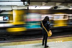 _JSA7036 (juanseazurmendi) Tags: argentina yellow metro move subte