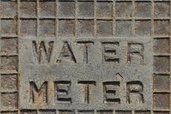 Metering drop by drop (Carbon Arc) Tags: macro texture water pattern text cover meter waffle flickrphotowalk macrotextures