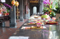 Bao'an Temple, Taipei, Taiwan (bourdieu_boy) Tags: money temple worship ghost religion taiwan samsung taipei offerings 30mm daoism baoan nx2000
