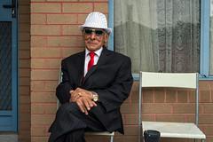 Yarraville (Westographer) Tags: portrait hat sunglasses suburbia australia melbourne yarraville westernsuburbs