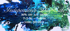 4th of July Sale (KristinVictoria) Tags: new original 3 abstract color colour detail art texture colors make promotion painting studio promo code mixed movement media paint artist acrylic day all colours artistic sale mixedmedia details 4 curves 4th july off medium swirl swirls 16 mixing organic create items curve independence visual sales promotional making creating th gonna physical coupon makers codes arcylic makersgonnamake makersmovement