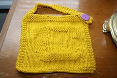 Colton's bib (durandir) Tags: knit bibs coltonsbib