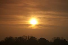 Sunrise 8th May 2013 (mark_fr) Tags: york bridge sunset sea sky sun set sunrise volcano maple view market yorkshire hill north estuary vale east dust rise volcanic mere beverley humber hornsea weighton beeford lissett molescroft