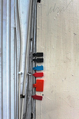 Color Coded (skipmoore) Tags: sanfrancisco wires tabs