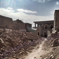 Kashgar's old town, being rebuilt