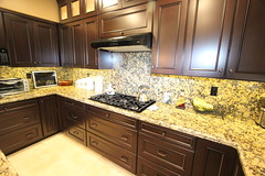 53 - Laguna Niguel - Kitchen Remodel (Aplus Interior Design & Remodeling) Tags: california wood stone tile interiors photograph granite orangecounty residence flooring decor interiordesign homeimprovement countertop backsplash kitchenremodel residentialdesign custommillwork