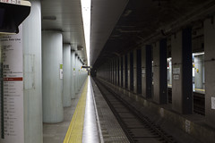 Platform (I'm just D.E.O.) Tags: street urban japan train canon subway photography japanese 7d mm 85 narita