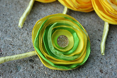 Groom Boutonniere (rbkcreations) Tags: pink blue wedding orange green yellow bride turquoise brooch bridesmaid bouquet lime bling satin alternative organza boutonniere buttonbouquet rbkcreations broochbouquet