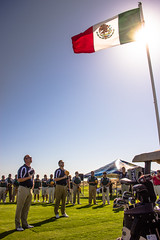Ceremonia de los himnos uniting Nations Cup 2013 (Ariel Gonzlez L) Tags: cup golf de course nations pennsula uniting corts bnderademxico