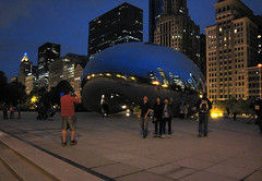 Millennium Park, Chicago (growlerKT) Tags: millenniumpark cloudgate thebean