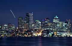 Seattle, Washington (Surrealplaces) Tags: seattle skyline night washington cityscape