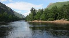La rivire Malbaie (louuiss) Tags: camping nature river day cloudy quebec rivire qubec t campsite pleinair sepaq riviremalbaie parcnationaldeshautesgorgesdelariviremalbaie parcsqubec louuiss lequbecetsesparcsnationaux