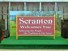 Day 168: Welcome to Scranton Sign (CaptMikey9) Tags: scranton theoffice photo365