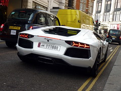 LNB (BenGPhotos) Tags: white london car italian fast exotic arab custom lamborghini supercar spotting exhaust qatar lnb v12 2013 hypercar 111888 aventador lp700