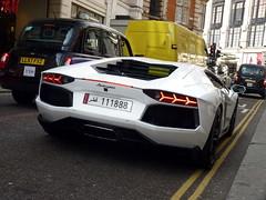 LNB (BenGPhotos) Tags: white london car italian fast exotic arab custom lamborghini supercar spotting exhaust qatar lnb v12 2013 hypercar 111888 aventador lp700