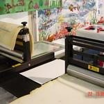Printing workshop at the 2002 Edinburgh International Book Festival