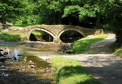 the pack horse bridge (perseverando) Tags: bridge lancashire 13thcentury packhorse wycoller cistercians perseverando