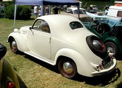 Simca 8 coup beige (gueguette80 ... non voyant pour une dure indte) Tags: old cars beige 8 autos fte juillet coup simca anciennes andelle franaises 2013 forgesleseaux