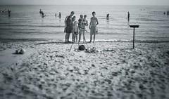 Selfies (David I Poole) Tags: family sea summer bw holiday selfportrait beach happy seafront sunbathing zante zakynthos 18mm tsilivi hoilday holidaymakers dipster1