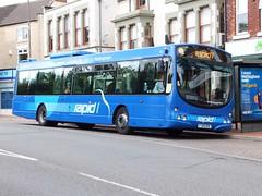 trent barton 740 Heanor (Guy Arab UF) Tags: bus buses eclipse volvo derbyshire trent barton wright 740 heanor b7rle wellglade wellgladegroup fj09bxe