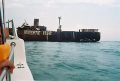 Shipwreck of Evanghelia from Costinesti (Patrasciuc Roxana) Tags: film shipwreck 200 romania dm blacksea smena smena8 paradies costinesti epava