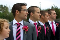 Bryce and Jaymie's Wedding 328 (kasandramath1) Tags: pink flowers wedding love temple grey groom bride dress britishcolumbia bridesmaids bryce kamloops weddings weddingdress groomsmen lds langley jaymie vancouvertemple vancouverldstemple