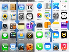 iOS6 vs iOS7 (frankrolf) Tags: review comparison ios6 ios7