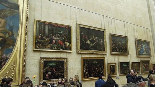 The Salle des Etats, Denon Wing, Musée du Louvre, Paris
