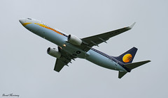 Jet Airways 737-800 VT-JFN (birrlad) Tags: india rain weather del airplane airport wind aircraft aviation airplanes flight jet bad climbing shannon airline esb delivery boeing airways airlines 06 takeoff runway airliner 737 yyz winglets 737800 bfi snn routing 7378al