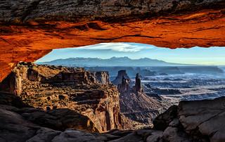 Inside Mesa Arch