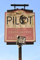 The Pilot pub sign (Teresacv8) Tags: sign pub coventry thepilot