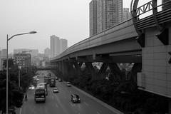 Shenzhen-Novembre 2013 (Laurent Camus) Tags: china white black art classic nb and shenzhen fujifilm laurent mainland camus tilo 972 xpro1