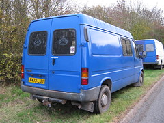 1997 FORD TRANSIT 150 VAN 2496cc R473LJU (Midlands Vehicle Photographer.) Tags: ford 150 transit 1997 van 2496cc r473lju