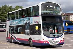 37155 YN06 URJ (Cumberland Patriot) Tags: first glasgow buses volvo b7tl wright wrightbus eclipse gemini yn06urj 37155 south yorkshire