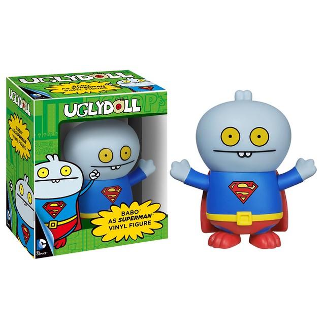 FUNKO VINYL FIGURE 系列【DC 英雄 X 醜娃娃】UGLYDOLL