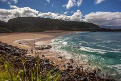 Waimea Bay (pevans941) Tags: ocean sunset sea beach sunrise canon hawaii bay boat rainbow waikiki oahu head diamond tropical waimea 5d honolulu pipeline 1740mm markii 70200mm