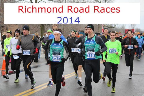 Richmond Road Races, 2014 01 12  - Photos, Race Results, Names of Participants (5k and 10k)