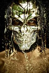 . (cszar) Tags: portrait water face silver skeleton skull model nikon mask jan nikkor speedlight softbox cls d600 strobist 85mmf14g captureone7